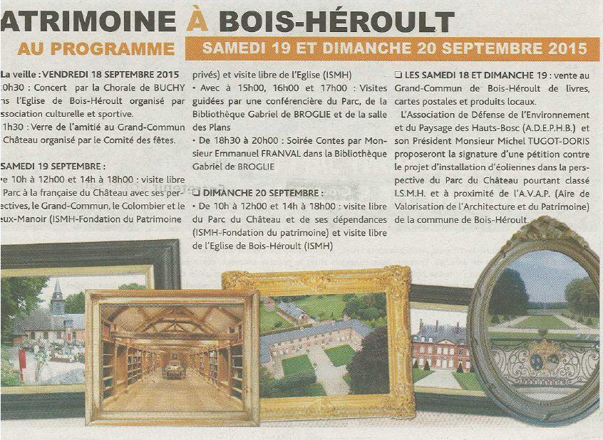 BH journee patrimoine evenements 19 09 15